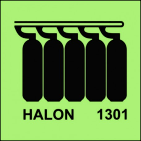 Halon 1301-Batterie